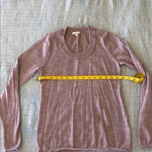 Lightweight GAP sweater- dusty rose
